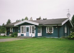 The Wooden Finnish House